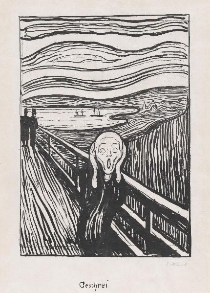 Expressionismo - quadro o grito