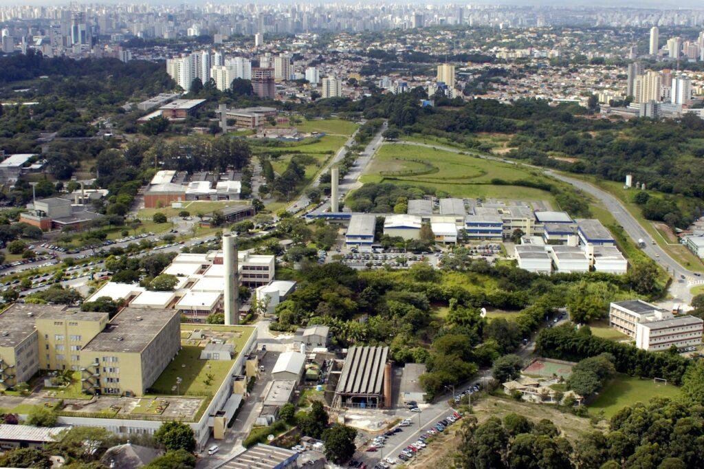 Campus da Cidade Universitária USP - Vestibular Fuvest