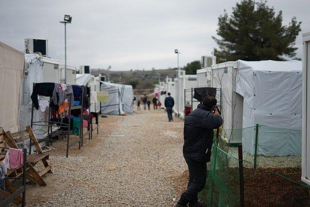 campo de refugiados consequência primavera árabe
