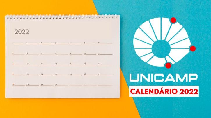 calendário unicamp 2022