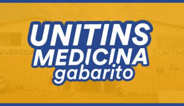 gabarito unitins medicina