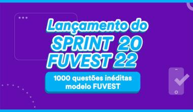 sprint fuvest 2022